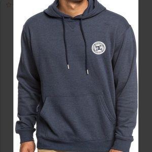 🔘 DC men's Rebel Pullover Hoodie Fleece Jacket 🔘